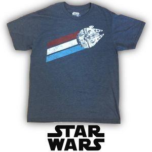 Star Wars Millennium Falcon Short Sleeve T-Shirt